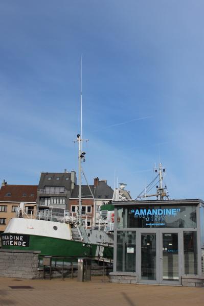 Een blik op het Museumschip Amandine