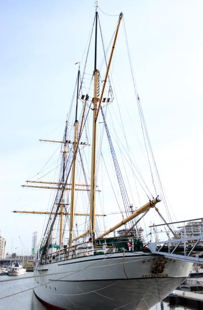 Een uitzicht op Zeilschip Mercator