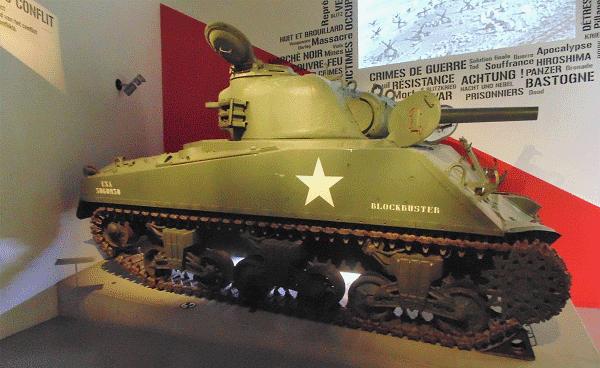 Foto van de tank Blockbuster